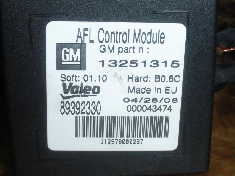 Steuergerät Beleuchtung OPEL Corsa D 1.4 66 kW 90 PS (07.2006 ...