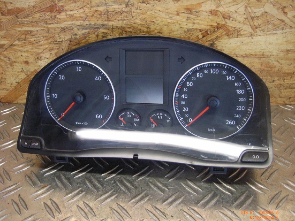 Tachometer VW Golf V (1K) 1.9 TDI 77 kW 105 PS (10.2003-11.2008)