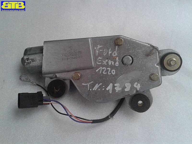 Wischermotor hinten 0390201526 / 93AG17K441H1B3 FORD ESCORT VI (GAL) 1.6 I 16V 65 KW 93AG17K441H1B3