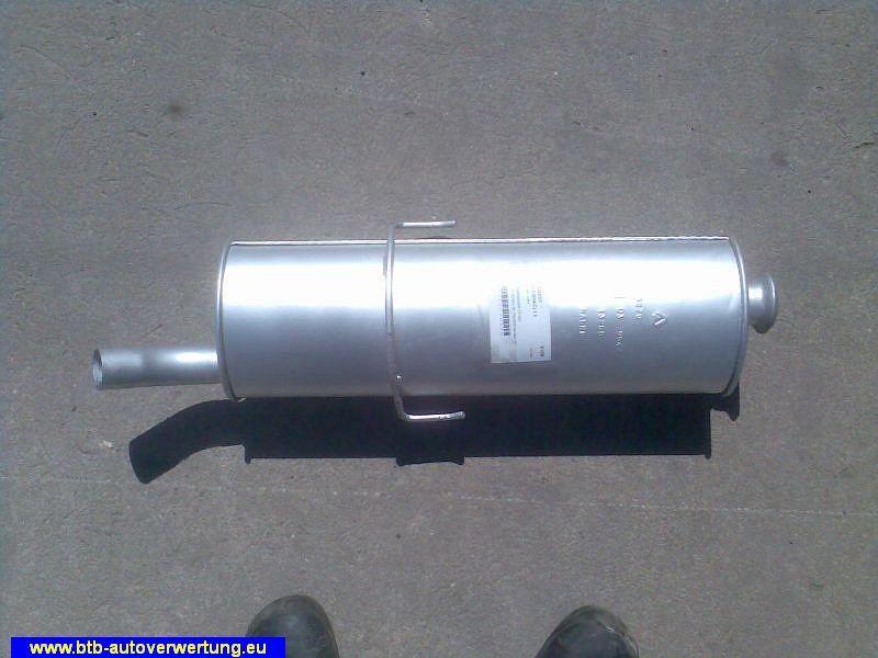 Schalldämpfer hinten Bosal-Vergl.-Nr.:190-805 PEUGEOT 205 II (20A/C) 1.1 44 KW 13265