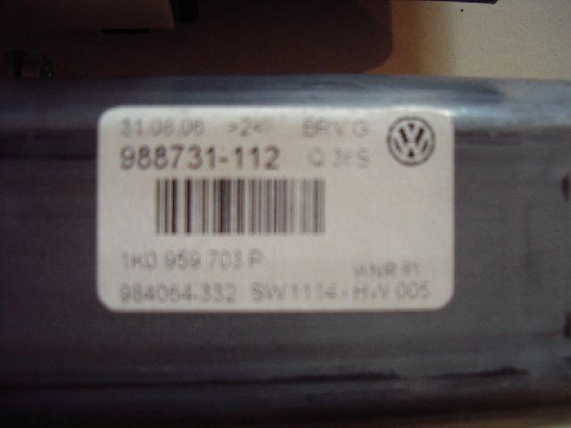 Motor Fensterheber h.l. VW Passat B6 Lim./Variant (Typ:3C)