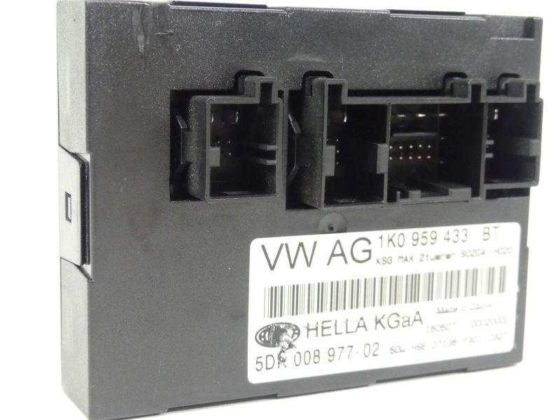 Komfortsteuergerät 1K0959433BT VW TOURAN (1T1, 1T2) 2.0 TDI 103 KW