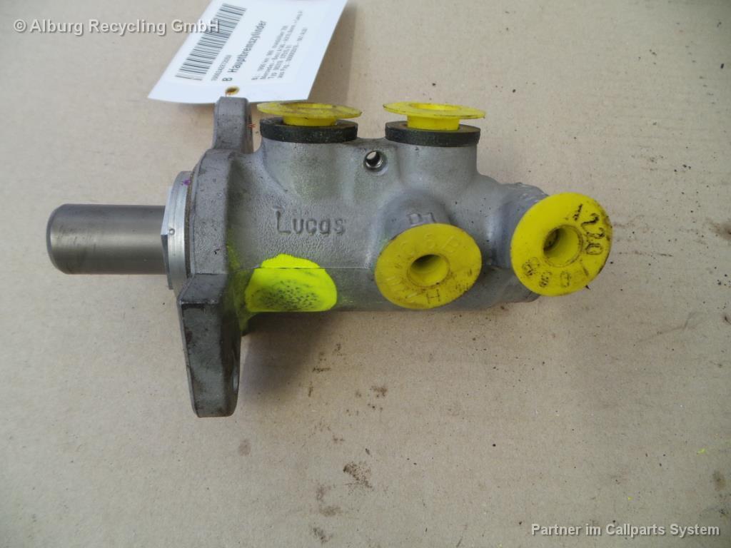 Hauptbremszylinder 1684300201 MERCEDES-BENZ A-Klasse(W168) A140  60 KW 1397ccm