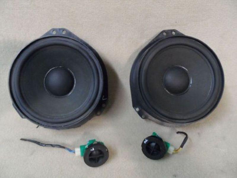 Lautsprecher links und rechts vorn, mit Hochtöner  OPEL OMEGA B CARAVAN (21_, 22_, 23_) 2.2 106 KW
