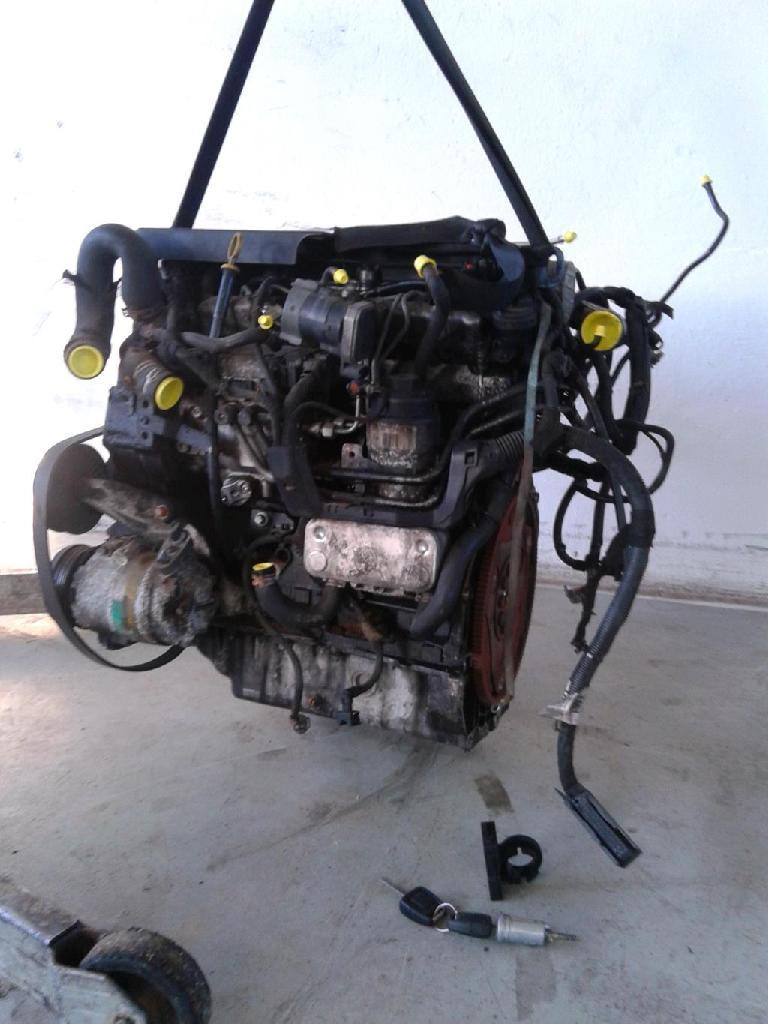Opel Zafira A 2,0TDi 74KW Motor Y20DTH komplett mit Steuergerät Hochdruckpumpe...