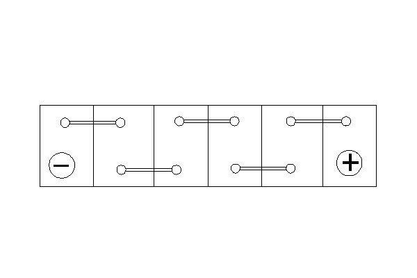 Starterbatterie BOSCH 0 092 S50 020