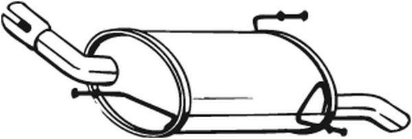 Endschalldämpfer BOSAL 185-625