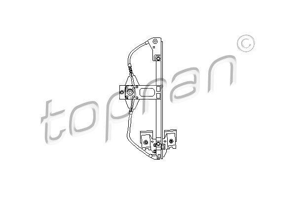 Fensterheber TOPRAN 103 157